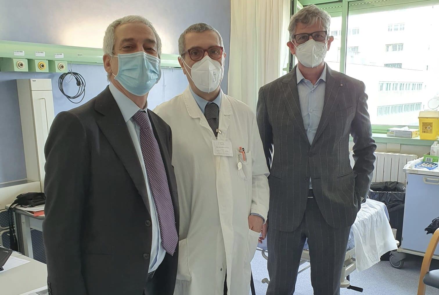 Copertina dell'articolo: Donato un video-polisonnografo al reparto di Neurologia del Policlinico di Roma Tor Vergata