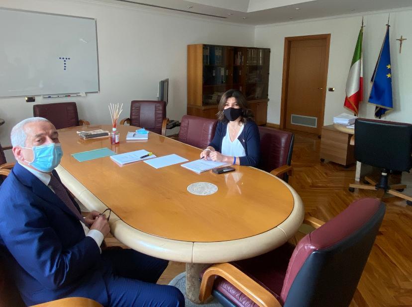 Copertina dell'articolo: Lavoro: il Segretario Generale incontra il Sottosegretario Nisini